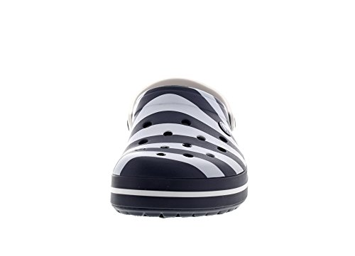 CROCS - Exclusive - CROCBAND GRAPHIC Clog - navy white Navy White