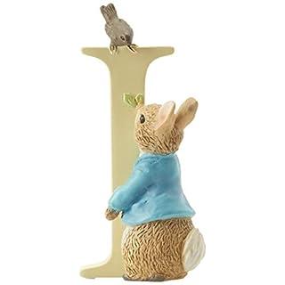 Beatrix Potter Alphabet Letter I Peter Rabbit Figurine