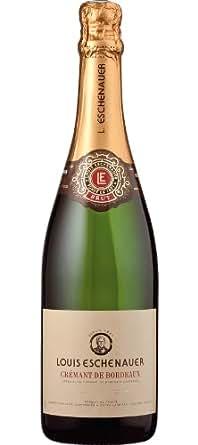 Frankreich Bordeaux Louis Eschenauer Crémant de Brodeaux AOP brut, 3er Pack (3 x 750 ml)