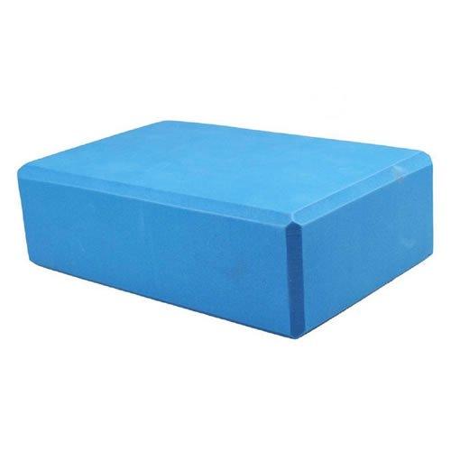 Yoga Pilates EVA mousse bloc briques haute densité Sport Fitness Gym Yoga Entraînement aide à l'étirement léger Brique Bleu [1pc] Bleu Bleu