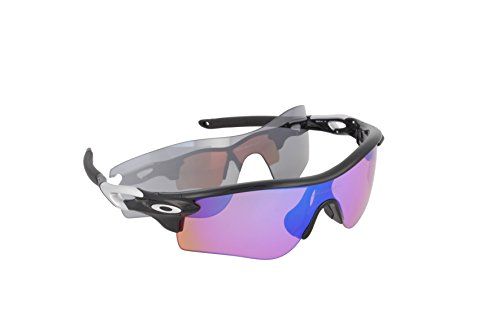 Oakley Sonnenbrille Radarlock, Polished Black/Prizm Deep Water Polarized/Prizm Shallow Water Polarized, 1