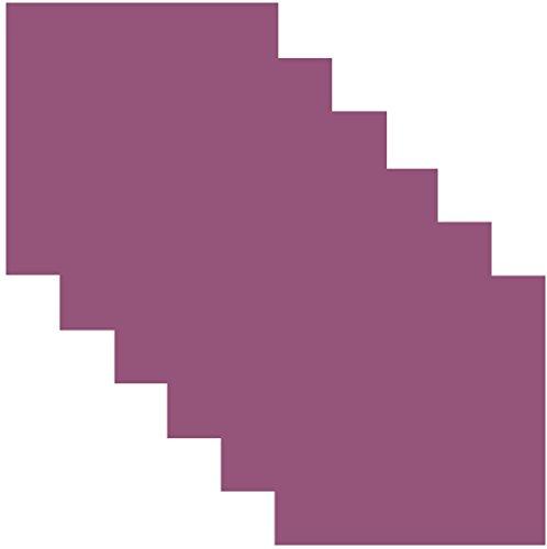 siser easypsv abnehmbarer Selbstklebendes Vinyl Craft 30,5x 30,5cm Blatt 6 Sheets Logan Berry Purple