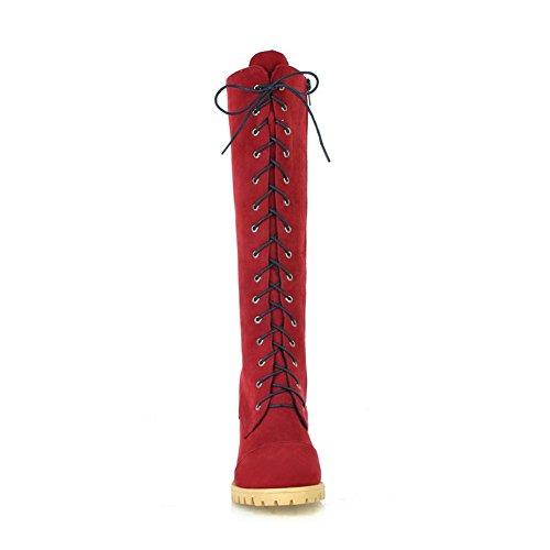 Balamasa, Bottes Pour Femmes Rouges