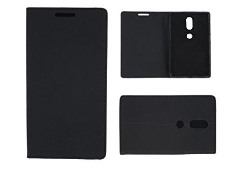 Colorcase Flip Cover Case for Lenovo Phab 2 Plus (6.4) - (Black)