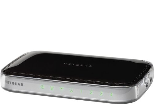dsl me geraet NETGEAR WNR1000-100PES RangeMax N150 Wireless Router mit integriertem 4-Port-Switch