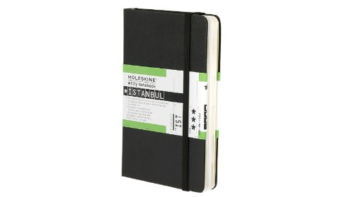 Moleskine City Notebook ISTANBUL Couverture rigide noire 9 x 14 cm