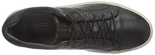 camel active Bowl 11 Herren Sneakers Schwarz (black/dk.grey 01)