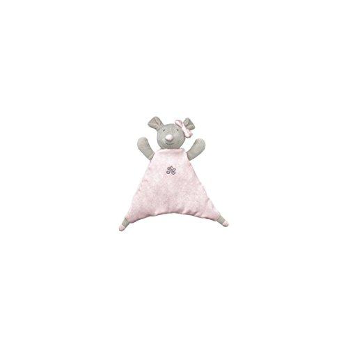 TARTINE ET CHOCOLAT - Doudou Eugénie, la souris - Rosa chiara, 21 cm