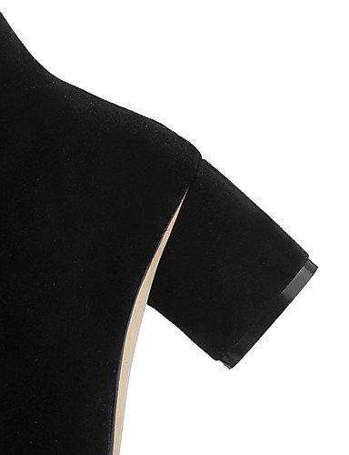 CU@EY Da donna-Stivaletti-Matrimonio / Tempo libero / Ufficio e lavoro / Formale / Casual / Serata e festa-A punta / Stivali da cavallerizza / black-us7.5 / eu38 / uk5.5 / cn38