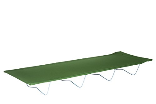 CAO Lit Tube Camping, Gris, 184 x 56 cm - H 20 cm