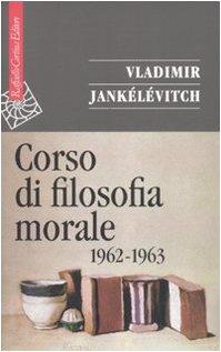 Corso di filosofia morale (1962-1963)