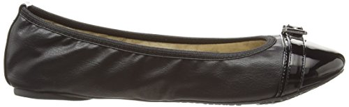 Butterfly Twists Ella, Damen Ballerinas Schwarz (Black)