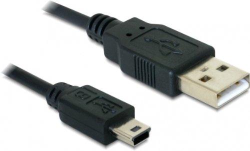 Delock USB 2.0 Typ A auf Typ mini B Kabel (5-polig, 1m)
