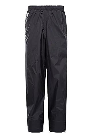 Mountain Warehouse Pakka Kids 100% Waterproof Over Trousers Pack Away