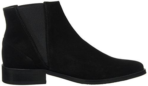 Royal Republiq Prime Suede, Chelsea Boots Femme Schwarz (Black)