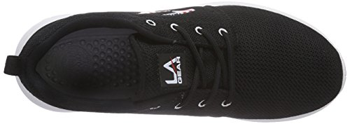 L.A. Gear  Sunrise, Sneakers basses femmes Noir (Black/Stars/Stripes)