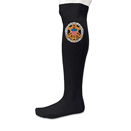 dfegyfr US Army Retro Joint Chiefs Of Staff Emblem Knee High Soccer Socks For Women & Men