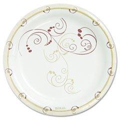 symphony-carta-stoviglie-piatto-85cm-marrone-125-confezione-da-venduti-come-1confezione