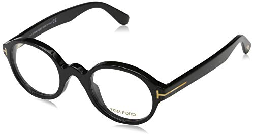 Tom Ford Unisex-Erwachsene Optical Frame Ft5490 001 46 Brillengestelle, Schwarz,