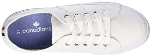 Canadians 832 384000, Sneakers basses femme Weiß (WHITE)