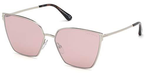Tom Ford Sonnenbrillen Helena FT 0653 Silver/PINK Damenbrillen