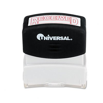 Message Stamp, RECEIVED, Pre-Inked/Re-Inkable, Red