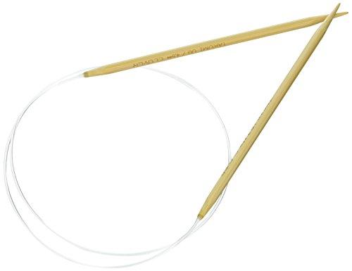 Clover Takumi Stricknadeln Bambus Rundstricknadeln 29-inchsize 7/4,5mm, andere, Mehrfarbig - Takumi Clover-stricknadeln