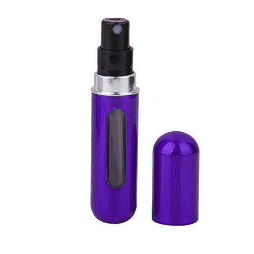 5ml Mini Bottiglia Pompa Profumo Riutilizzabile Atomizzatore Portatile Viaggio -