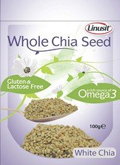 GranoVita - Linusit - Whole Chia Seed - 100g (Case of 12)