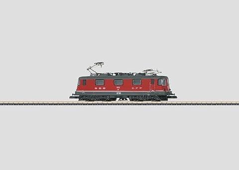 Märklin 88591 Z Electric locomotive Re 4/4 II red of