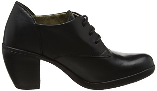 FLY London Hira128fly, Escarpins Bout Fermé Femme Noir (Black)