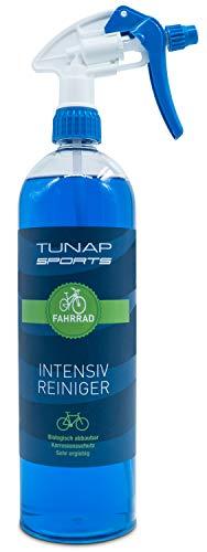 TUNAP SPORTS Intensiv Fahrradreiniger, 1000 ml Spray | Pflege und Wartung von MTB bis Rennrad - Rahmen und Teile (1-Pack) -
