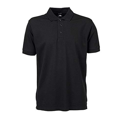 Tee Jays - Mens Stretch Deluxe Polo / Black, L L,Black -