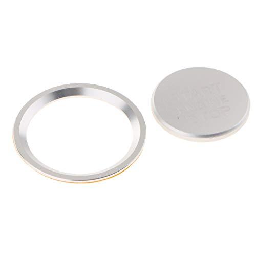 Sharplace-Copertura-Pulsante-Motore-On-Off-Protettivo-Decorazione-Auto-Accessori