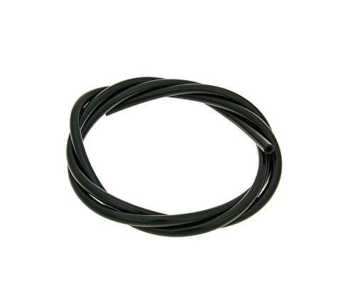 Ölleitung/Unterdruckschlauch CR schwarz 1m - 2,5x5mm