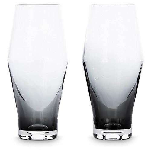 Tom Dixon - Set di bicchieri da birra da uomo - Nero - taglia unica