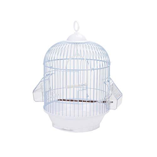 DUOER home- Jaulas para pájaros 1 UNIDS Pequeño Alambre de Metal Jaula de Pájaro Pequeño Perla Pájaro Loro Acacia Hierro Forjado Universal Jaula