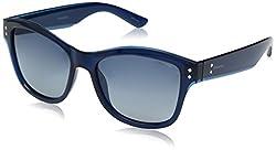 Polaroid Polarized Square Womens Sunglasses - (PLD 4034/S MNV 54Y2|54|Grey Color)