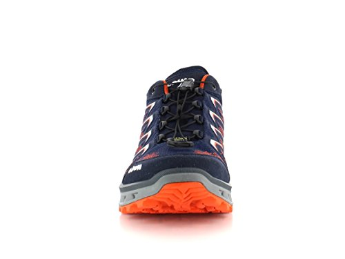 Lowa Aerox GTX Surround LO Navy Orange Blau