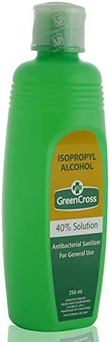 مطهر مضاد للبكتيريا ايزوبروبيل 40% من جرين كروس - 250 مل