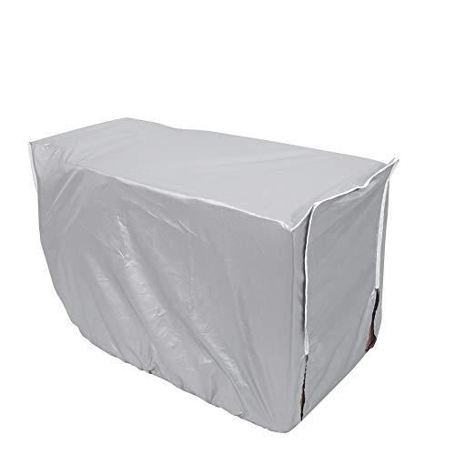 Copertura per condizionatore d'aria della finestra protezione antipolvere impermeabile schermo in tessuto d'argento ( dimensione : 94x40x73cm )