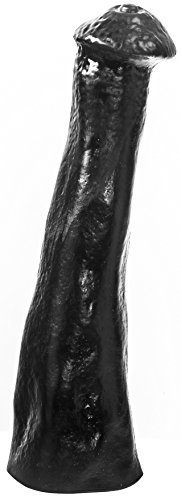 Animals Irish Cob Dildo, 28 x 5 cm, Schwarz, 1er Pack