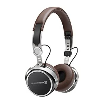Beyerdynamic Aventho wireless on-ear headphones with sound personalisation, Brown