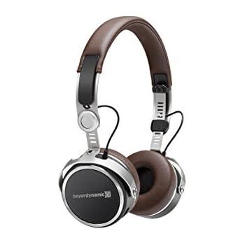 Beyerdynamic Aventho wireless on-ear headphones with sound personalisation, Brown