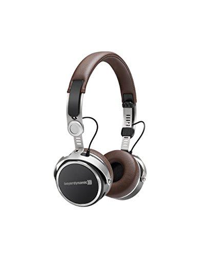 Beyerdynamic Aventho wireless On-Ear-Kopfhörer mit Klang-Personalisierung in braun. 30 Stunden Akkulaufzeit, Bluetooth kabellos, MIY App, Mikrofon thumbnail