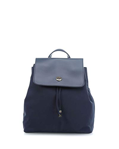 Tommy Hilfiger Dressy Nylon Backpack Tommy Navy