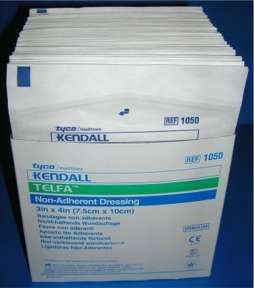 herent Dressings Qty 50/3 x 4/Non-Adherent by Kendall/Covidien ()