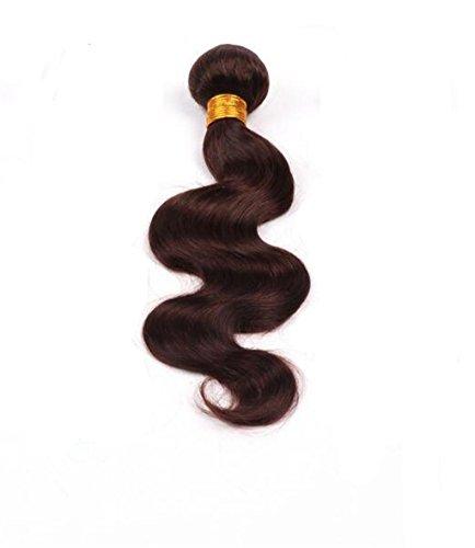 er Welle Haar Extensions unverarbeitete Echthaar Schuss 300g , 16 (Körper-wellen-brasilianische Haar -)