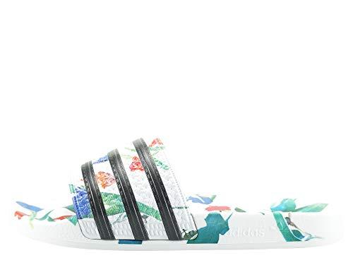 adidas Damen Adilette W Aqua Schuhe, Mehrfarbig Core Black/FTWR White Ee4851, 42 EU