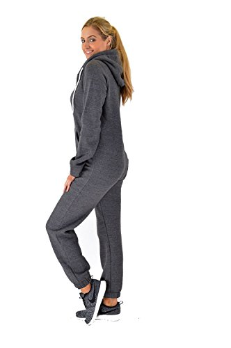 Ladies Fleece Damen-Zip-On-Onesie - 2